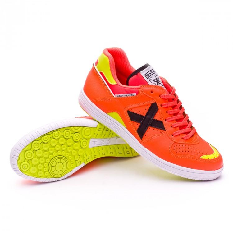 Futsal Orange Store Fluorescent Football Continental Boot Munich aq6rxwaZH
