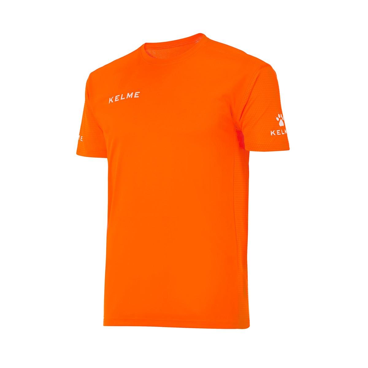 b3a7e9e8e2 Camiseta Kelme Campus m/c Naranja - Tienda de fútbol Fútbol Emotion