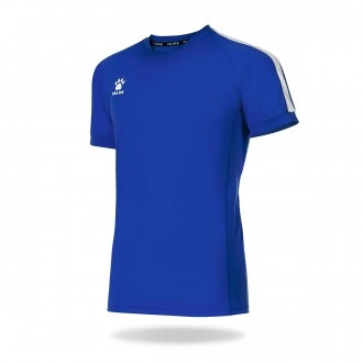 Camisola  Kelme Global m/c Azul royal