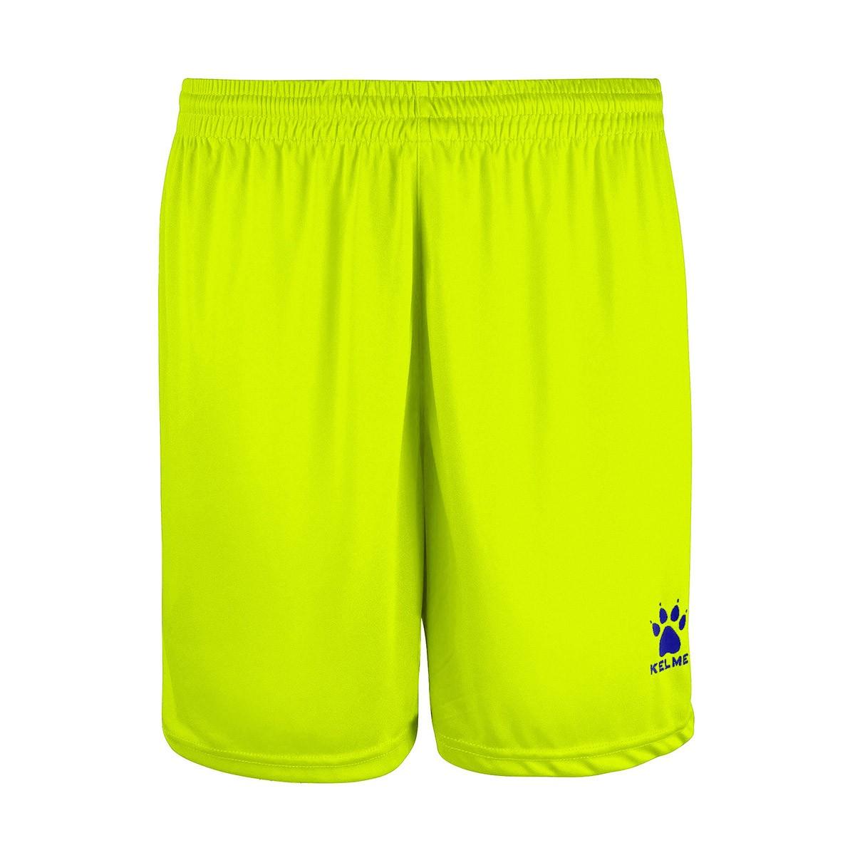 08a1e2923a Pantalón corto Kelme Global Amarillo flúor - Tienda de fútbol Fútbol Emotion