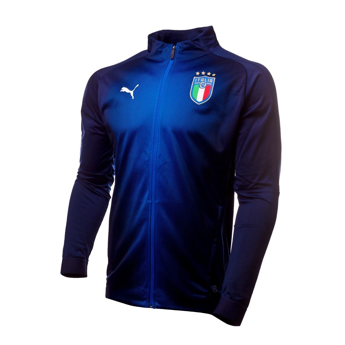 Casaco Puma Italia Stadium 2017-2018 Peacoat-Team power blue - Loja ... 67cb1683687b6