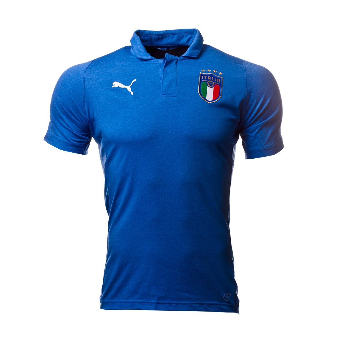 Polo shirt Puma Italy Casual Performance SS 2017-2018 Team power ... 52b9bb7ac129