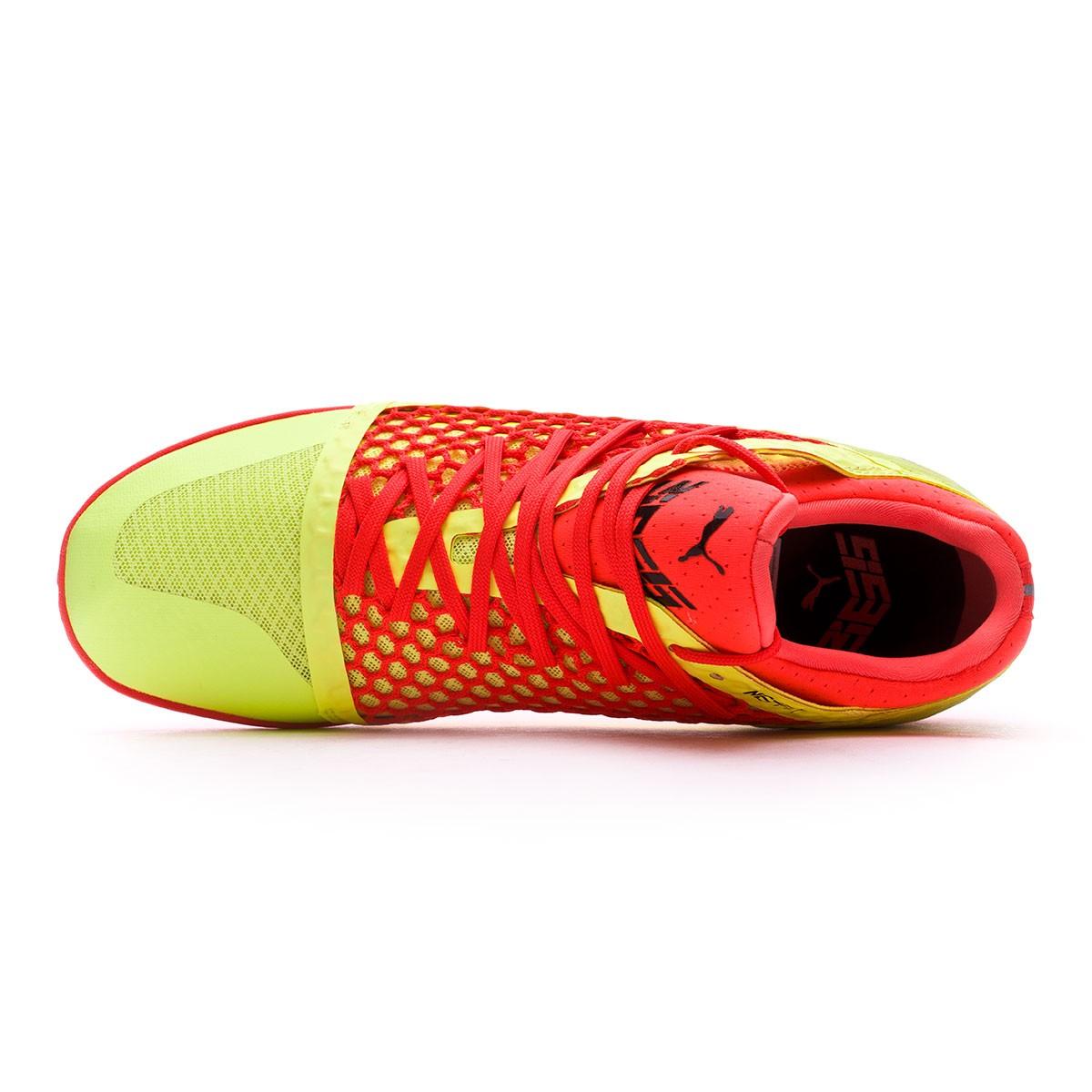 online retailer 5dec2 3e611 Sapatilha de Futsal Puma 365 Netfit CT Fizzy Yellow-Red Blast-Puma Black -  Loja de futebol Fútbol Emotion