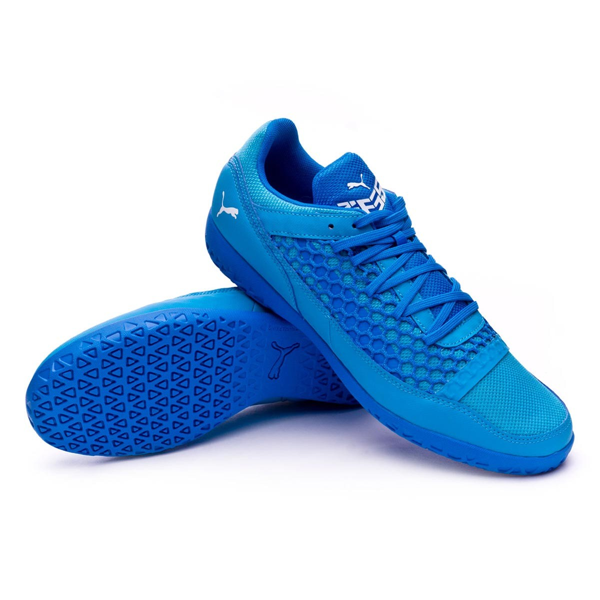 Puma 365 NF CT Futsal Boot. Electric Blue Lemonade-Puma White-Hawaiian ... f9e58a10e