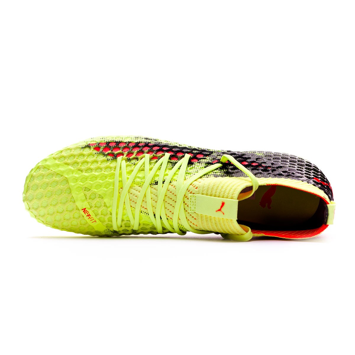 7fd4da456f499 Zapatos de fútbol Puma Future 18.1 Netfit FG Fizzy Yellow-Red Blast-Puma  Black - Tienda de fútbol Fútbol Emotion