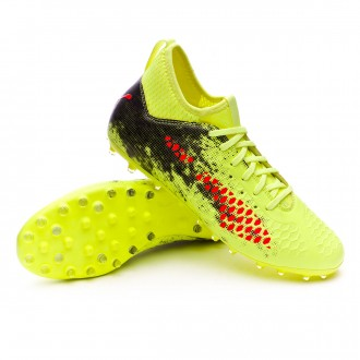 Boot  Puma Future 18.3 MG Fizzy Yellow-Red Blast-Puma Black