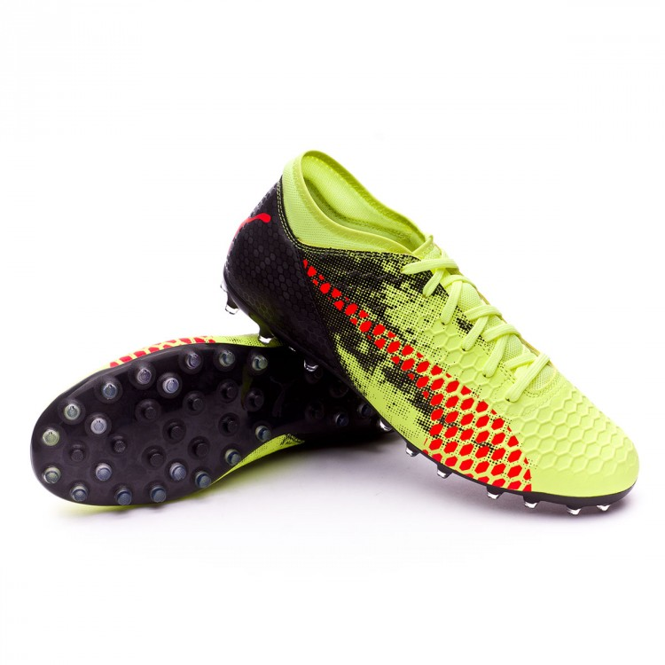 Boot Puma Future 18.4 MG Fizzy Yellow-Red Blast-Puma Black ... 6f122b3625