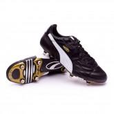 Chuteira King Pro SG black-white-team gold