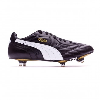 Bota Puma King Pro SG black-white-team gold