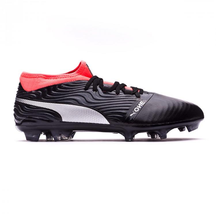 Boot Puma One 18.2 AG Puma Black-Puma Silver-Red Blast - Leaked soccer 4da22dea8