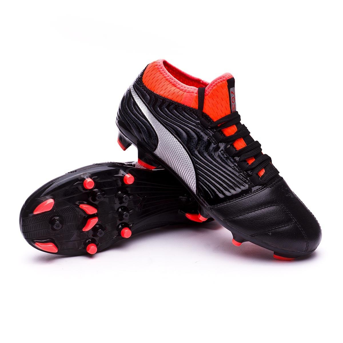 ... Bota One 18.3 AG Niño Puma Black-Puma Silver-Red Blast. Categorías de  la Bota de fútbol. Botas de fútbol 865c0a3284921