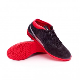 Zapatilla  Puma One 18.4 IT Niño Puma Black-Puma Silver-Red Blast