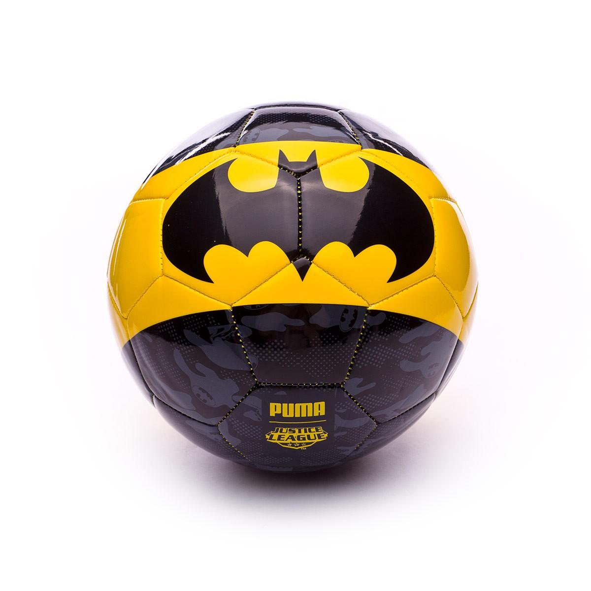 c32fa82bec633 Balón Puma Superhero Lite 350 Puma Black-Dandelion-BATMAN - Tienda de  fútbol Fútbol Emotion