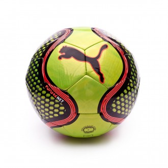 Ballon  Puma Future Net Fizzy Yellow-Red Blast-Puma Black