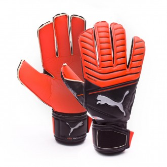 Glove  Puma One Protect 18.3 Red Blast-Puma Black-Silver