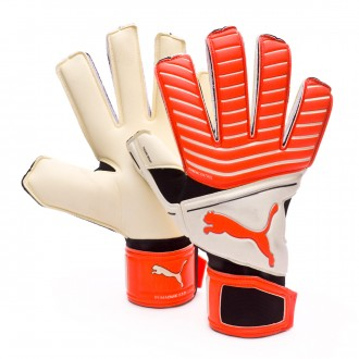 Glove  Puma One Grip 17.2 RC Puma White-Red Blast-Puma Black-Silver