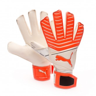 Glove  Puma One Grip 17.3 RC Puma White-Red Blast-Puma Black-Silver