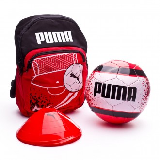 Bolsa  Puma Backpack Set Niño Red Blast-Puma Black-Puma White