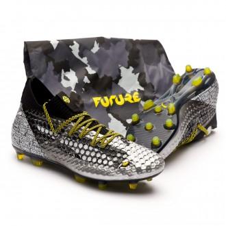 Future 18.1 Netfit Grizi FG Puma Black-Puma Silver-Vibrant Yellow