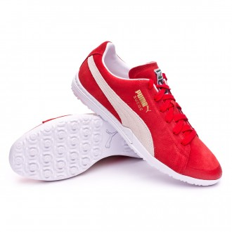 Chaussure de football  Puma Future Suede 50 TT Puma Red-Puma White