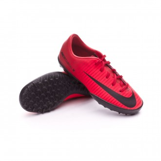 Sapatilha  Nike MercurialX Vapor XI Turf Niño University red-Black-Bright crimson
