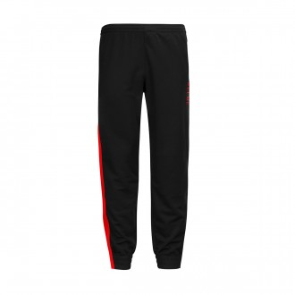 Tracksuit bottoms  Kelme Lince Black-Red