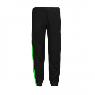 Tracksuit bottoms  Kelme Lince Black-Lime