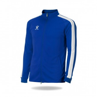 Jacket  Kelme Global Azul royal-White