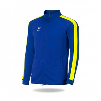 Jacket  Kelme Global Azul royal-Yellow