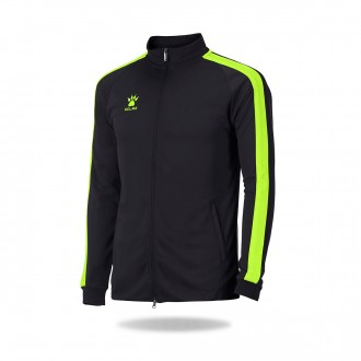 Jacket  Kelme Global Black-Lime