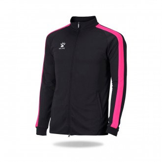 Jacket  Kelme Global Black-Fuchsia