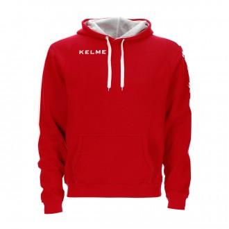 Sweatshirt  Kelme con capucha Street Vermelho