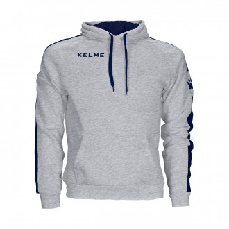 Sweatshirt  Kelme con capucha Street Cinza