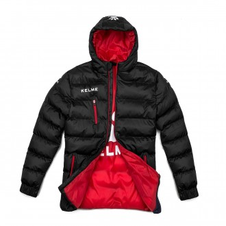 Coat  Kelme Street Black-Red