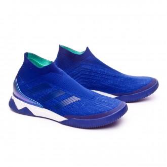 Sapatilha  adidas Predator Tango 18+ TR Hi-res blue-Aero green