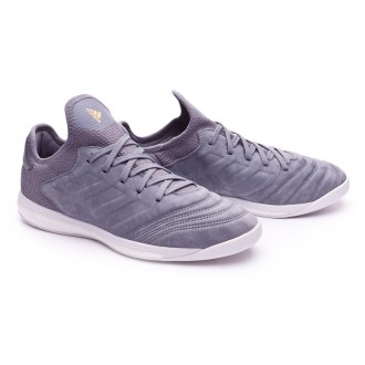 Zapatilla  adidas Copa 18+ TR Premium Grey-Gold metallic