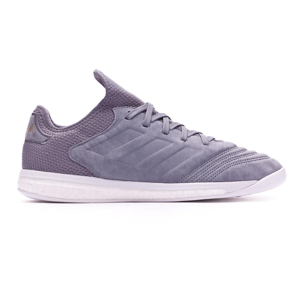 hot sale online 48c09 27a4e Trainers adidas Copa 18+ TR Premium Grey-Gold metallic - Football store  Fútbol Emotion