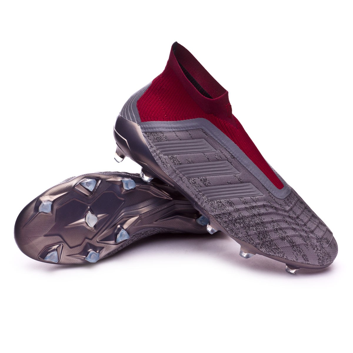 75cd70085 Football Boots adidas PP Predator 18+ FG Metallic-Burgundy - Tienda de  fútbol Fútbol Emotion