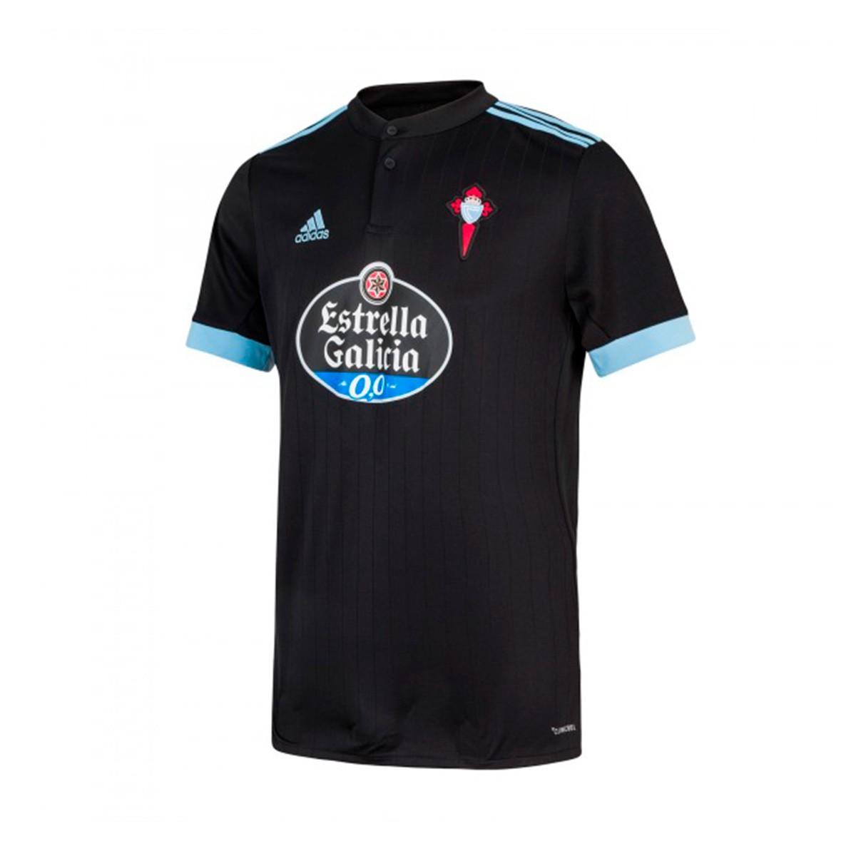 532e7778f Camiseta adidas Celta de Vigo Segunda Equipación 2017-2018 Niño Black-Clear  blue - Tienda de fútbol Fútbol Emotion