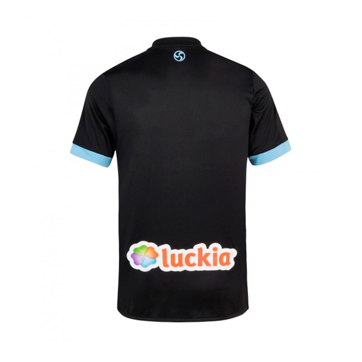 2b4bbdc03 Camiseta adidas Celta de Vigo Segunda Equipación 2017-2018 Niño Black-Clear  blue - Tienda de fútbol Fútbol Emotion