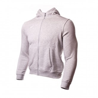 Casaco  Nike Team Club Full-Zip Hoodie Criança Grey heather