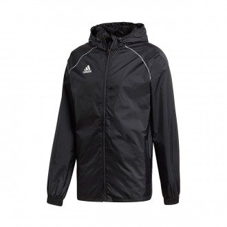 Raincoat  adidas Core 18 Rain Black-White