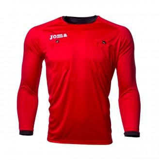 Camiseta  Joma Arbitro m/l Rojo