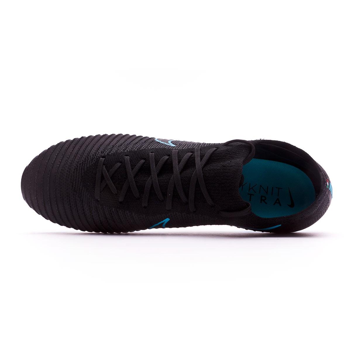 9d40dc43906 Football Boots Nike Mercurial Vapor Flyknit Ultra FG Black-Gamma blue -  Tienda de fútbol Fútbol Emotion