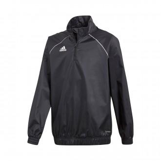 Sweatshirt  adidas cortavientos Core 18 Niño Black-White