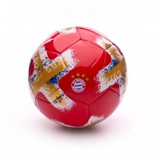 Balón  adidas Torfabrik Bayern de Munich 2017-2018 True red-White