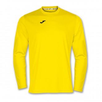 Camiseta  Joma Combi m/l Amarillo