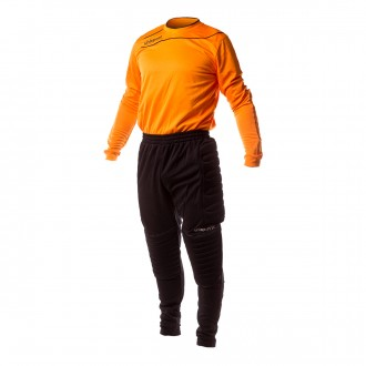 Conjunto  Uhlsport Set de portero Orange-Black