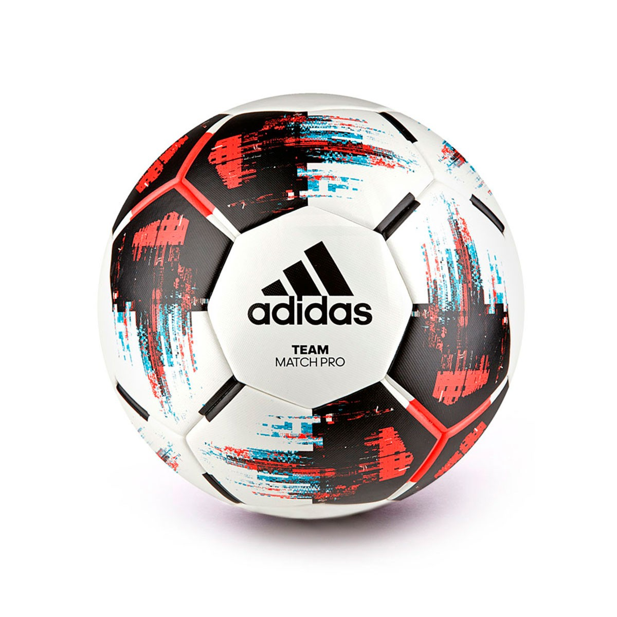 9854c2847114 Ball adidas TEAM Match White-Black-Red - Tienda de fútbol Fútbol Emotion