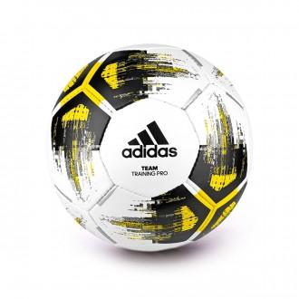 Balón  adidas TEAM Training Pro White-Yellow-Black